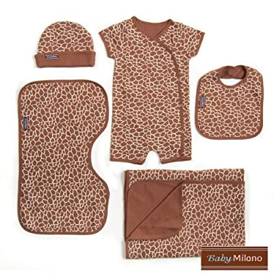 Baby Milano Giraffe - 5 pc