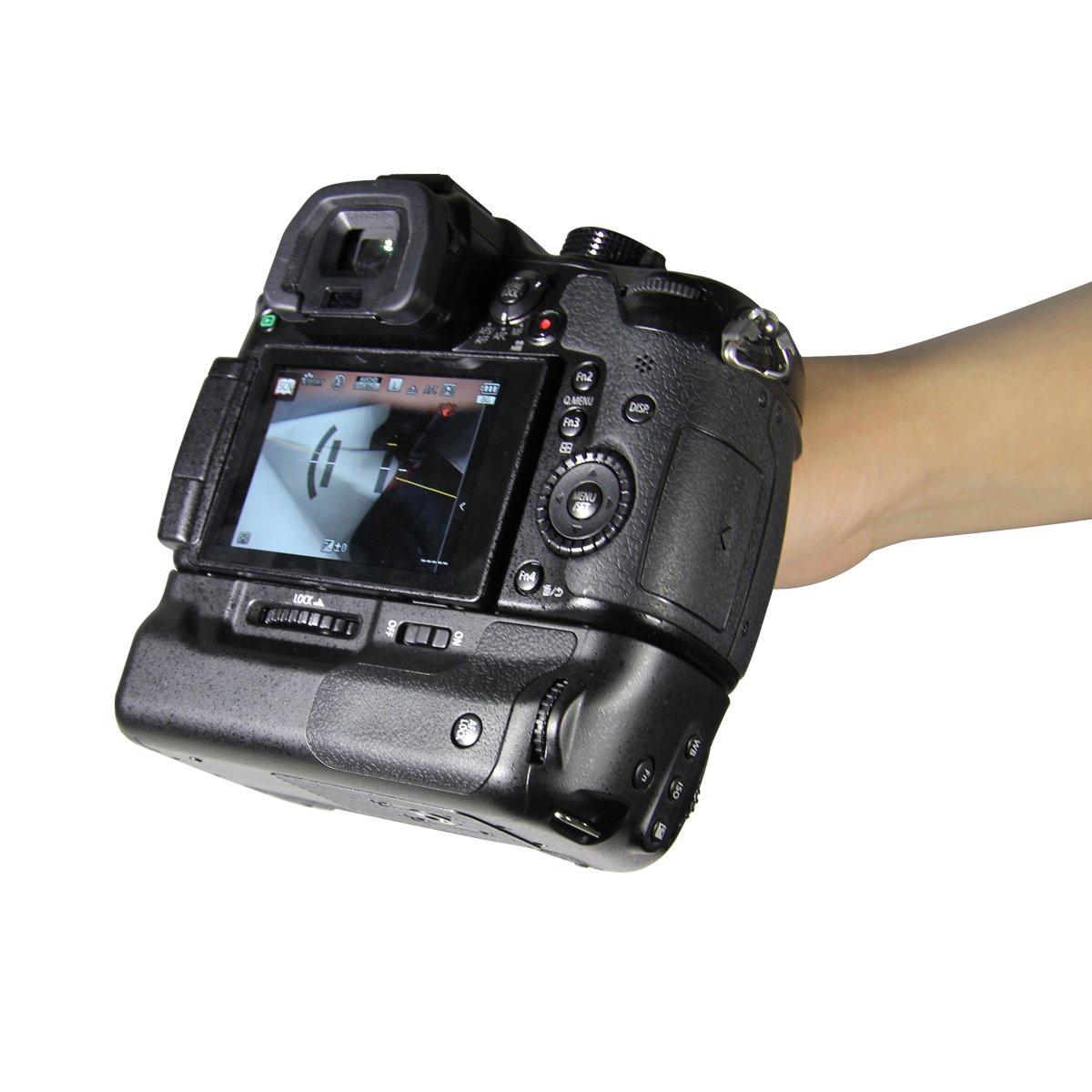 Dmw Bggh3 Newmowa Vertical Battery Grip Replacement For Wasabi Blf19 Kit Panasonic Gh3 Gh4 Gh5 Lumix Digital Slr Camera Photo