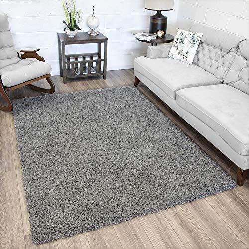 Ottomanson SHG2763-7X10 Collection shag Area Rug, 6'7