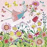 Mila Marquis Postkarte 140x140mm ~ Blumenelfe