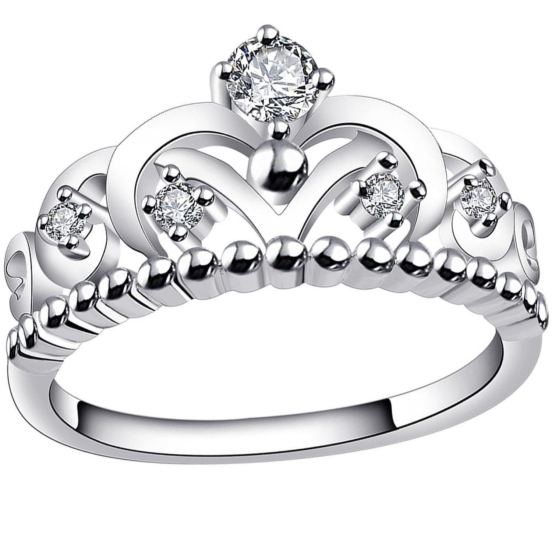 Amazon BOHG Jewelry Womens Fashion Silver Plate Cubic