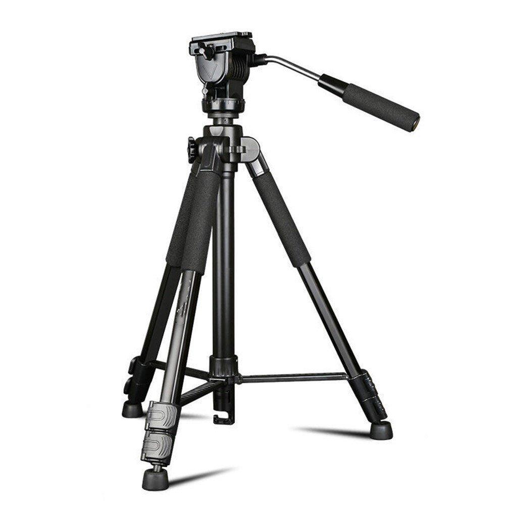 Portable Aluminum SLR Camera Tripod, Multifunctional Travel Photography/Camera Head Tripod by ZQ