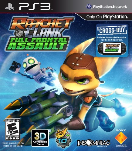 Ratchet & Clank: Full Frontal Assault - Playstation 3 (Ratchet Clank Video Game Ps3)