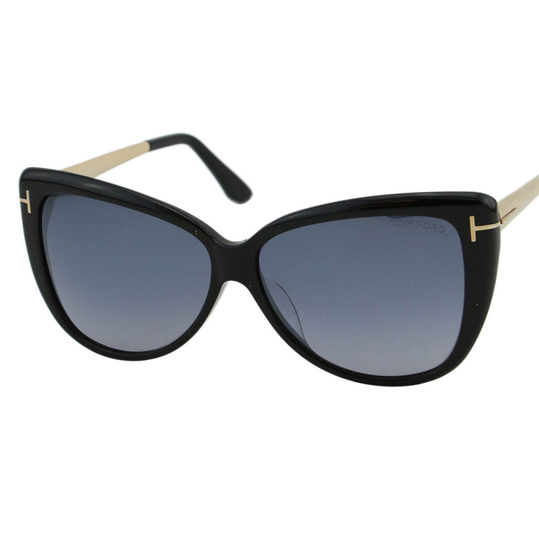 672eef51c848c Sunglasses Tom Ford FT 0512 -F 01C Shiny Black Smoke Mirror at Amazon Men s  Clothing store