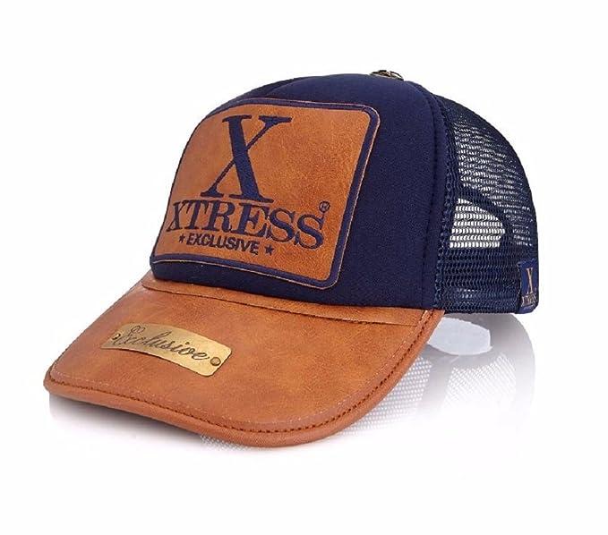 Xtress Exclusive Gorra azul con logo XTRESS para hombre y mujer: Amazon.es: Ropa y accesorios