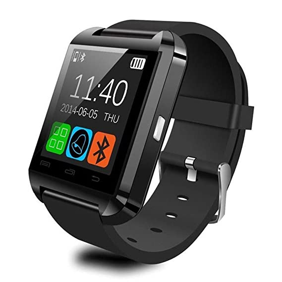 Padgene V8 Sports Smart Watch Bluetooth Message Push, Sedentary Reminder, Pedometer, Sleep Monitoring Wristband for iOS/Android Phone