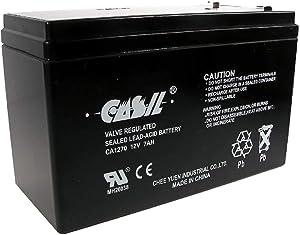 Original Casil CA1270 12v 7ah ADT Home Alarm Battery