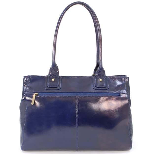 d3156f3f1350 Grand sac à main Kensington signé Catwalk Collection - Bleu Marine   Amazon.fr  Chaussures et Sacs