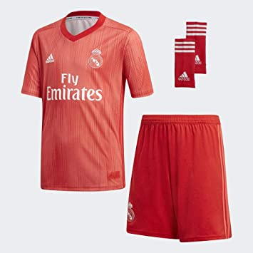 Amazon.com: adidas 2018-2019 Real Madrid - Kit completo para ...