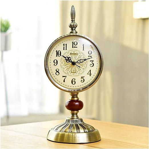 SMC Moderno Reloj Creativo Retro Europeo Adornos Mute Reloj de ...