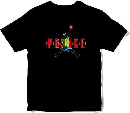 JEMASHOP Camiseta Hombre Negra Air Fresh Prince Michael Jordan ...
