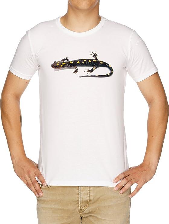 Vendax Salamandra Camiseta Hombre Blanco