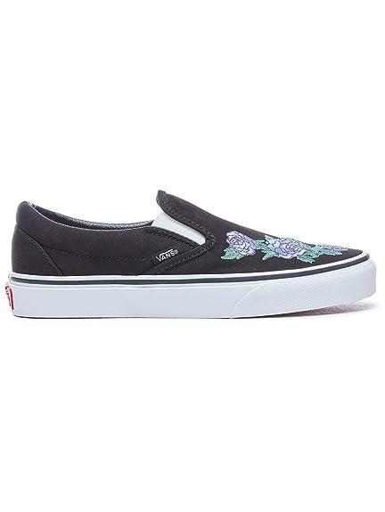 Vans Slip Ons Men Rose Thorns Classic Slip-On Slippers  Amazon.co.uk  Shoes    Bags 5c3513a93