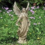 "16.25"" Peaceful Religious Angel Outdoor Patio Garden Statue"
