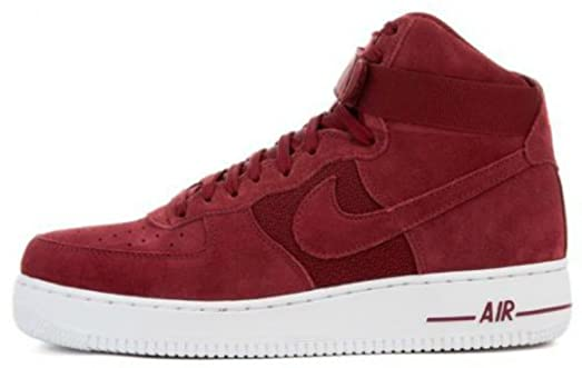 Nike Air Force 1 Haut 07 De Sac À Main En Daim Rouge point de vente magasin de vente acheter le meilleur AoO2T