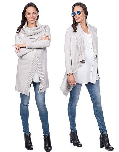 Amazon.com: Seraphine Denise Wrap chaqueta de punto de la ...
