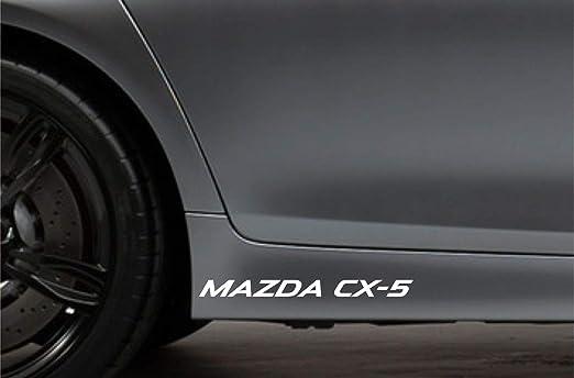UUSticker 2 Adhesivos Laterales para Falda para Mazda + CX-5: Amazon.es: Coche y moto