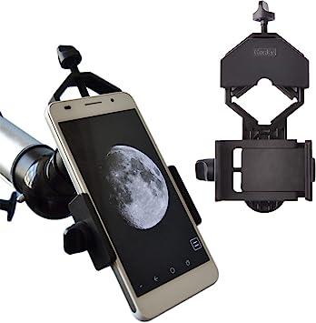 Gosky - Adaptador Universal para teléfonos móviles (Compatible con monocular y telescópico): Amazon.es: Electrónica