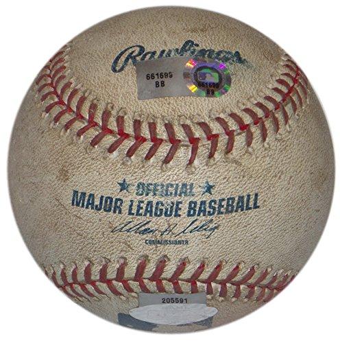 (COLORADO ROCKIES @ LA DODGERS GAME USED 2007 BALL BRAD PENNY PITCH TO BRAD HAWPE)