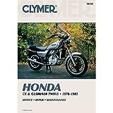 1978-1983 CLYMER HONDA MOTORCYCLE CX & GL500/650 SERVICE MANUAL NEW M335