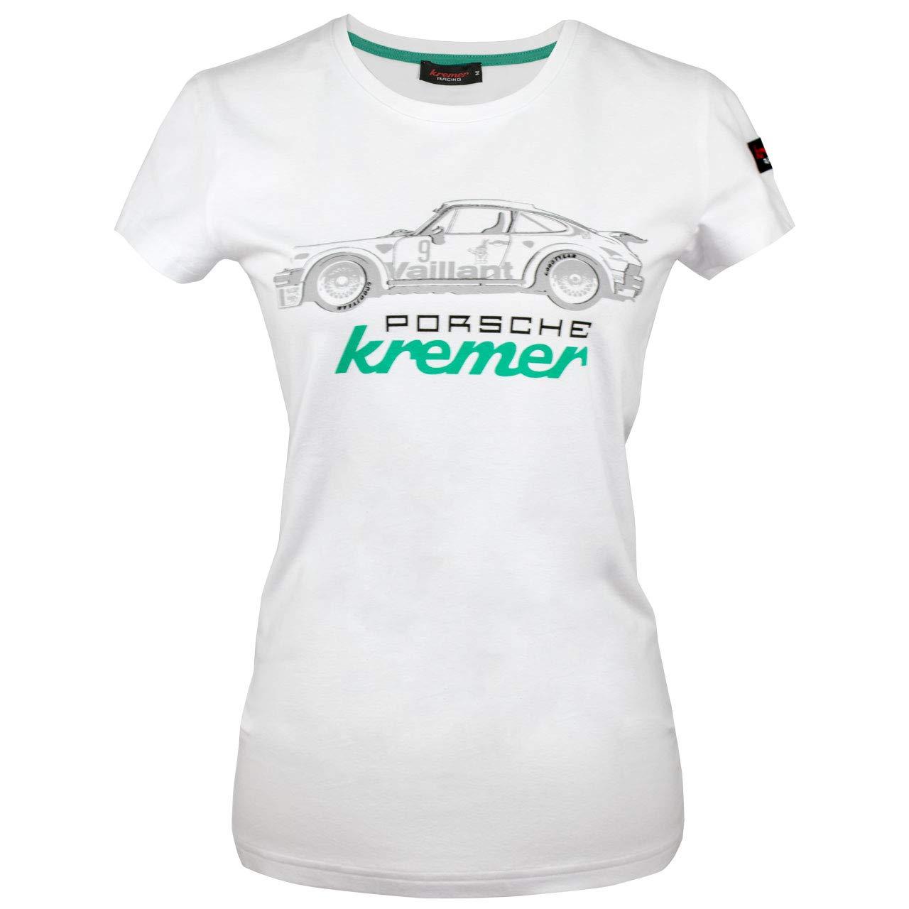 Kremer Racing Damen T-Shirt Porsche 911 Carrrera No 9