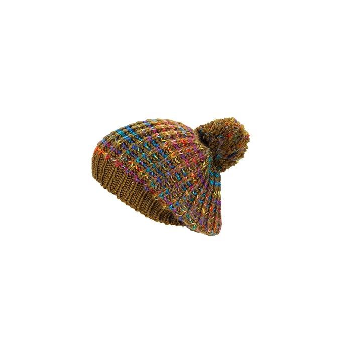 Feinzwirn Cappello alla Moda Textilewaren PON-PON - Berretto a Maglia da  Donna con 260 785bafbab773