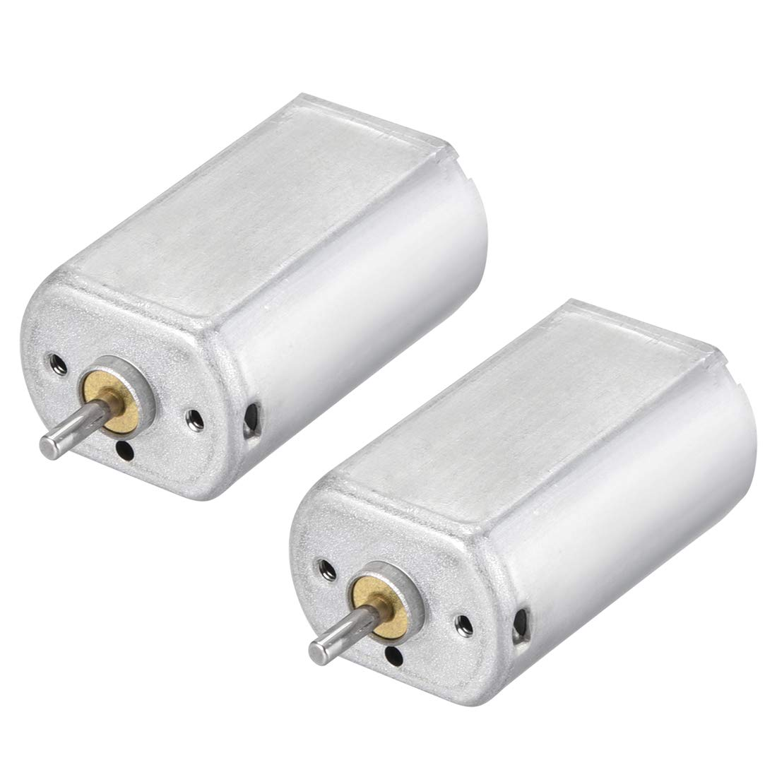 uxcell DC Motor 1.5V//1500RPM 3V//3500RPM 0.02A Electric Motor Round Shaft for RC Boat Toys Model 5Pcs