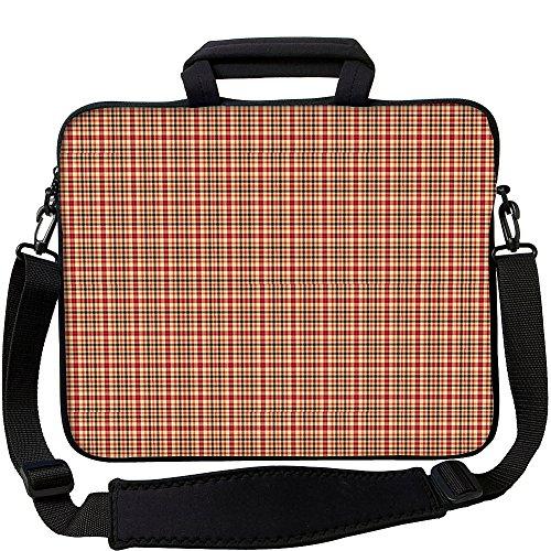 "Designer Sleeves 17"" Neoprene Laptop Bag Case with Handle..."
