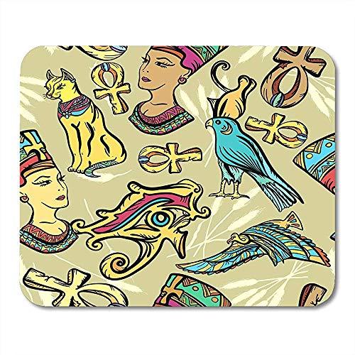 Alfombrillagamingcon Signos Antiguo Egipto Clásico Flash Parches Y ...