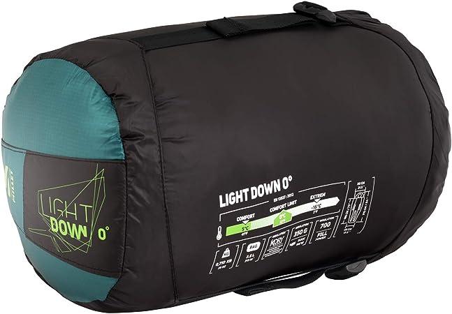 Emerald U Millet Light Down 0/° Saco de Dormir Momia Unisex-Adult