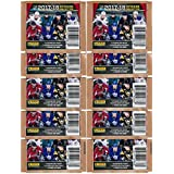 2017/18 Panini NHL Hockey Stickers Collection of TEN(10) Factory Sealed Sticker Packs with 70 Brand New MINT Glossy Stickers! Look for Stickers of all your Favorite NHL Superstars & Rookies! WOWZZER