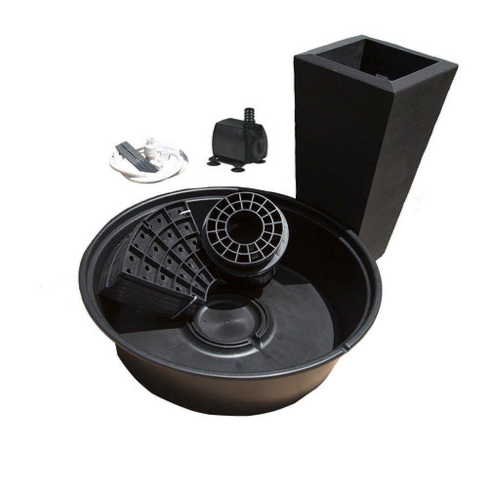 Little Giant PFK Caviar Black Papyrus Fountain Kit