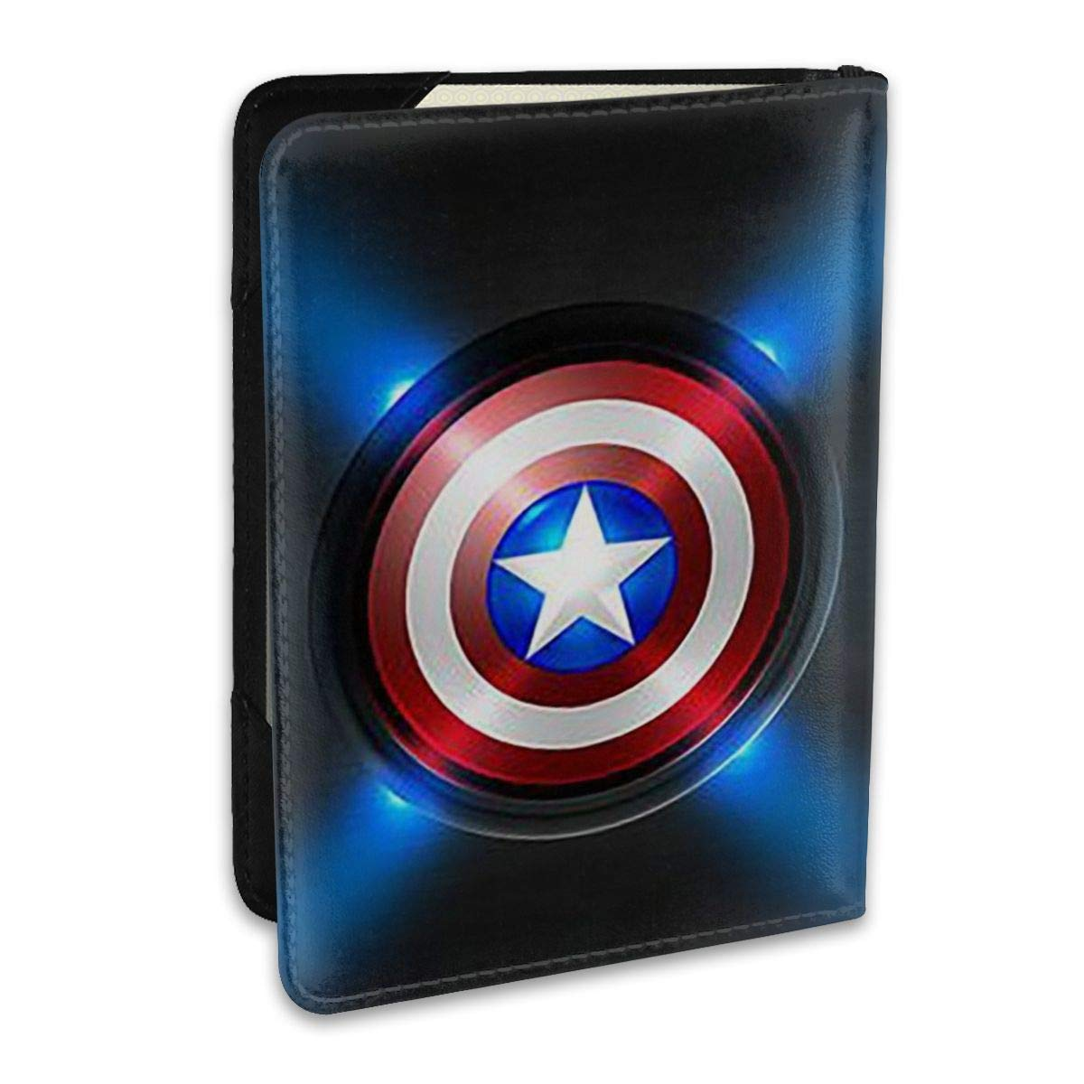 Captain America Travel Passport Cover Case For Men /& Women /â/€ Passport Holder 5.5 Inch /â/€ Get Peace Of Mind When Traveling