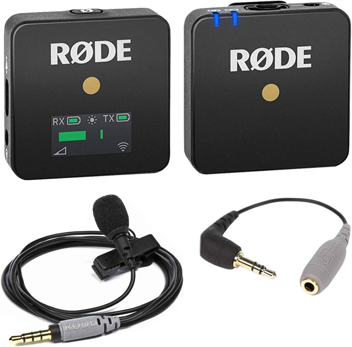 Rode - Sistema de micrófono inalámbrico GO + Smartlav + micrófono ...