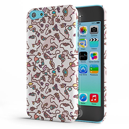 Koveru Back Cover Case for Apple iPhone 5C - Re-neutrals