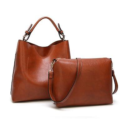 Amazon.com: Bolsas de hombro para mujer, bolsa grande ...