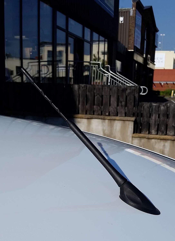 9 INCH I10 I20 I30 I40 IX35 SANTA FE ACCENT Carstyling UK Genuine Black Car Aerial Antenna 23 CM