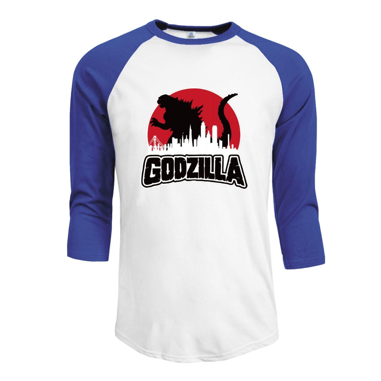 73253555 Amazon.com: Godzilla 2016 Men's 3/4 Sleeve Raglan baseball t-shirt Black:  Clothing