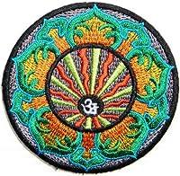 Aum Om Ohm Hindu Yoga Indian Lotus Lucky Logo biker Hog Outlaw motorcycle leather jackets custom patches