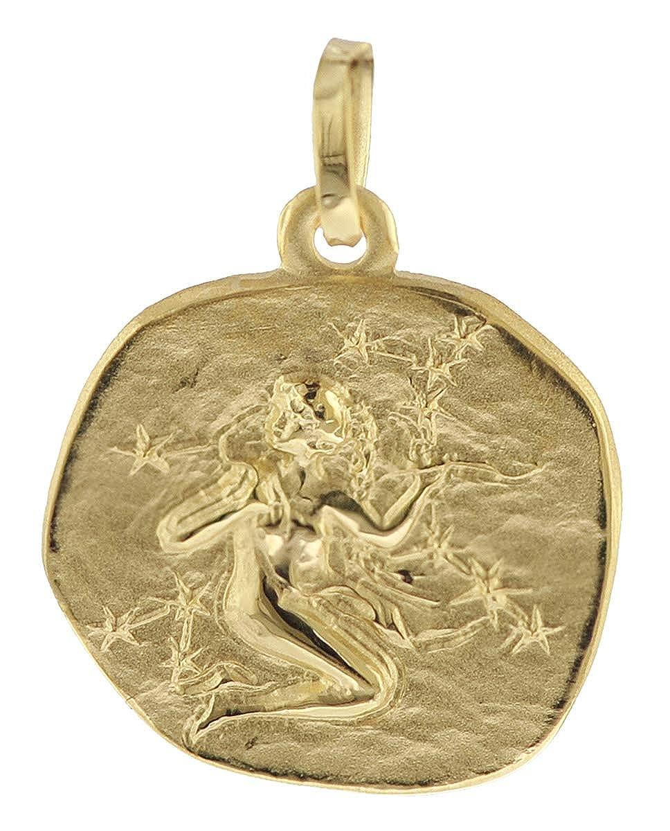 trendor Sternzeichen-Anhänger Jungfrau Gold 333 08733