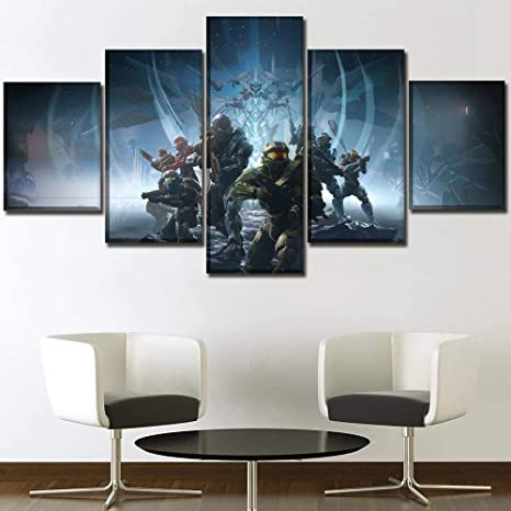 Game Over Poster Canvas Modern Art ~ 5 Size to Choose