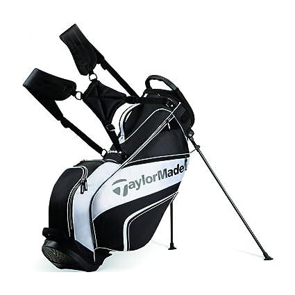 71e25672a63 Amazon.com   TaylorMade TM Stand Bag 4.0 - BLACK WHITE   Sports ...