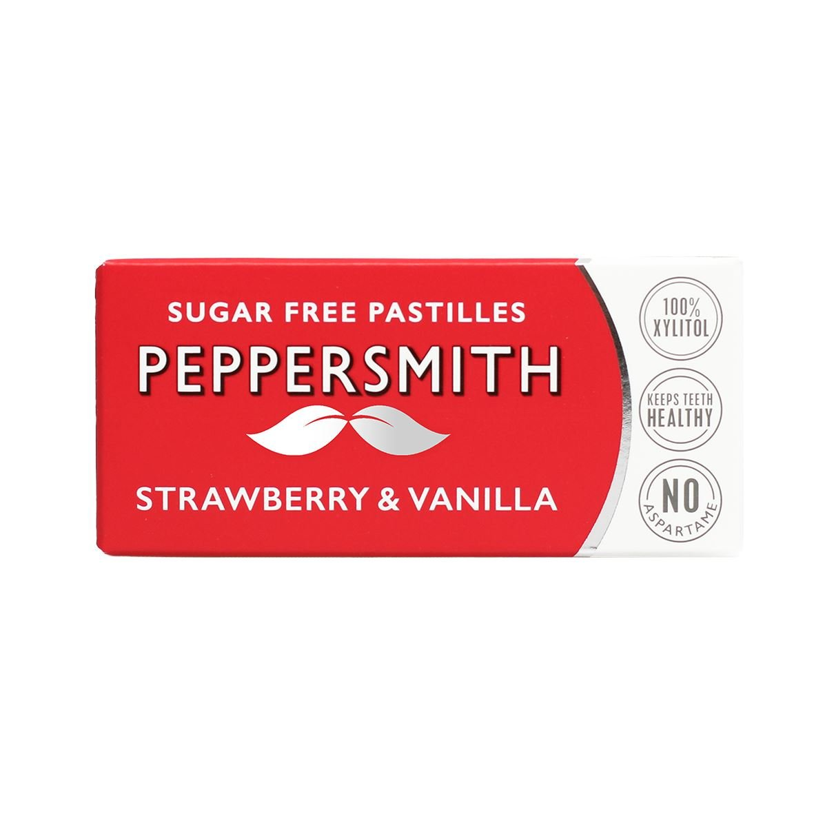 Peppersmith Strawberry Dental Mints 12x15g by Peppersmith
