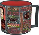Edgar Allan Poe Coffee Mug Poe's Most Famous Quotes & Writings Mug Deal (Small Image)
