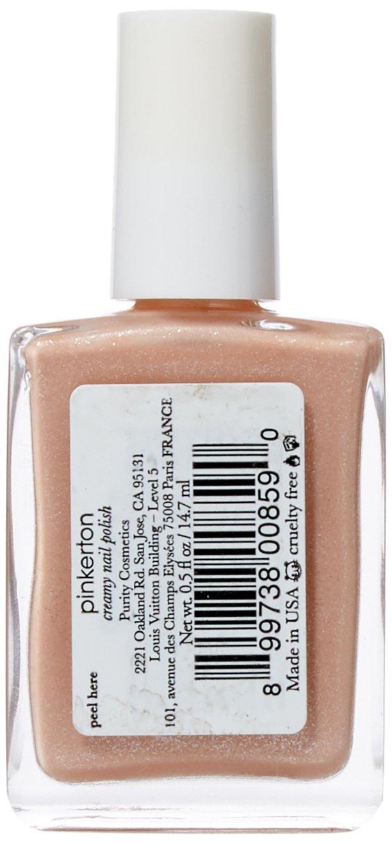 Amazon.com : 100% Pure Creamy Nail Polish, Pinkerton : Beauty