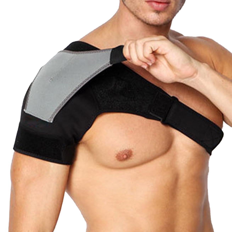医療過誤ドループ花瓶肩サポーター 肩関節 脱臼 保護 肩痛補助ベルト付き ショルダー 圧迫 スポーツ 肩の痛み 冷え 肩コリ ストレッチ 安定 怪我予防 簡単装着 男女 左右兼用