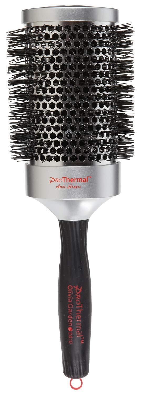 Olivia Garden ProThermal Anti-Static Round Hair Brush T-63 (3 1/2