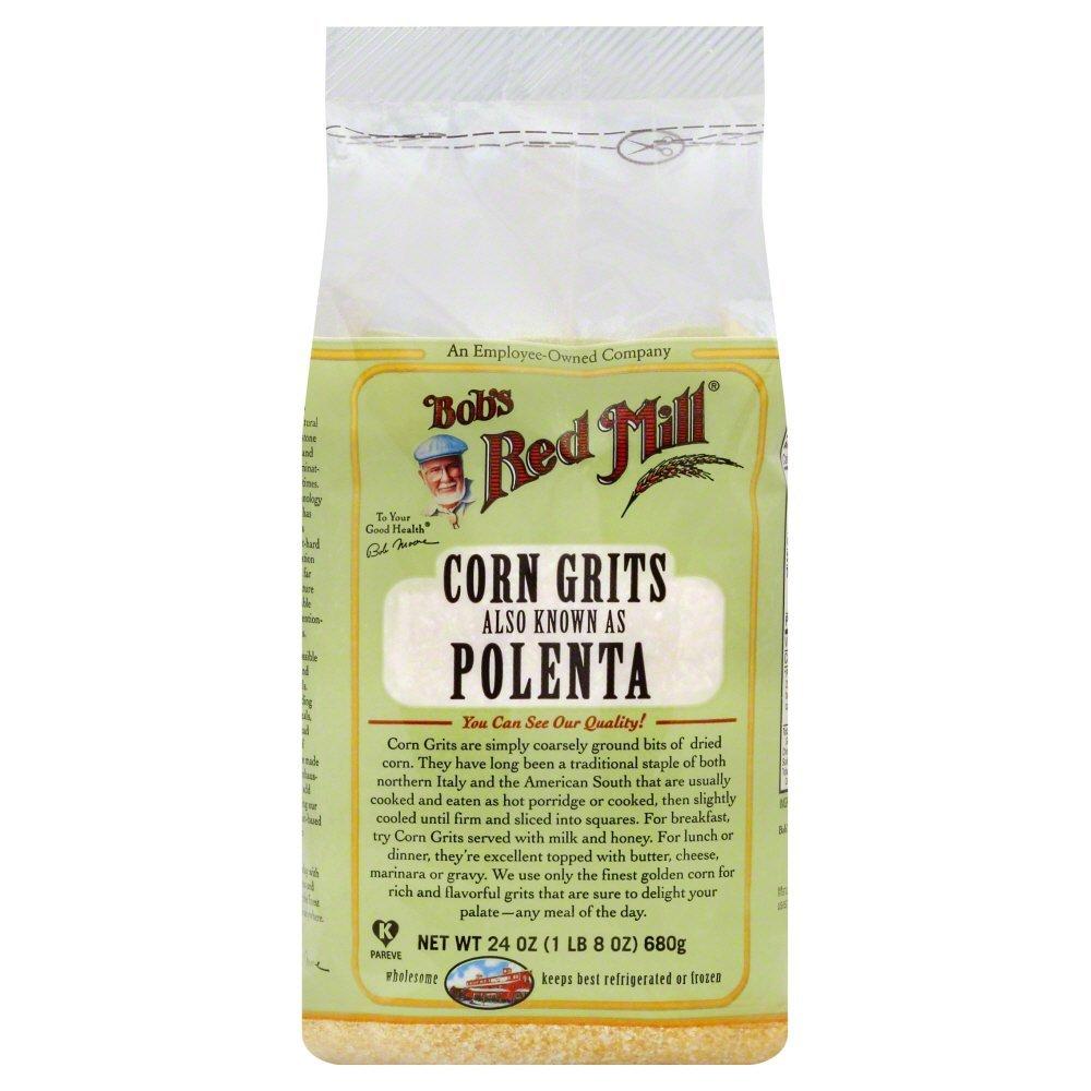 Bobs Red Mill Corn Grits Polenta 24.0 OZ(Pack of 4)