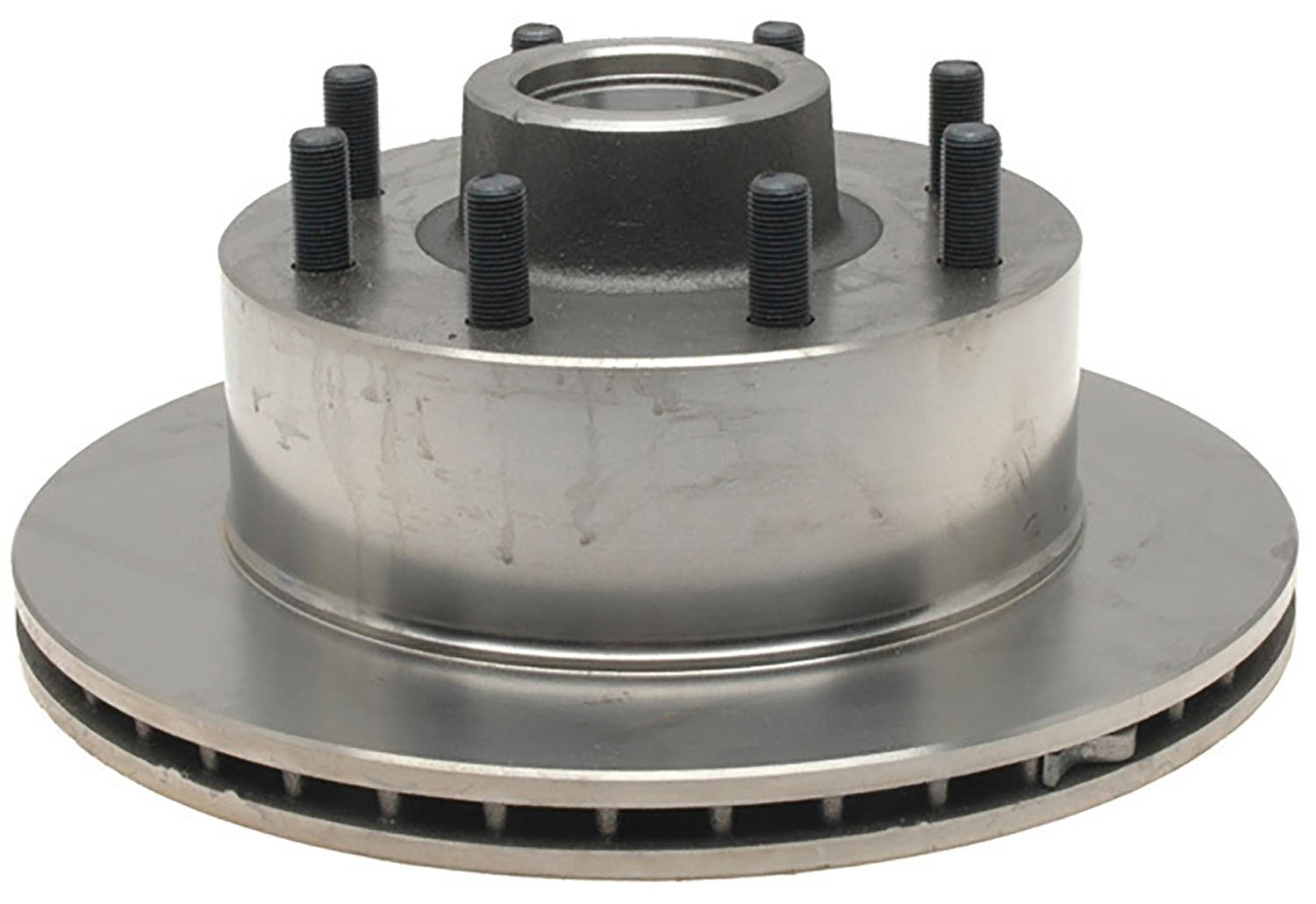 ACDelco 18A1402A Advantage Non-Coated Front Disc Brake Rotor and Hub Assembly