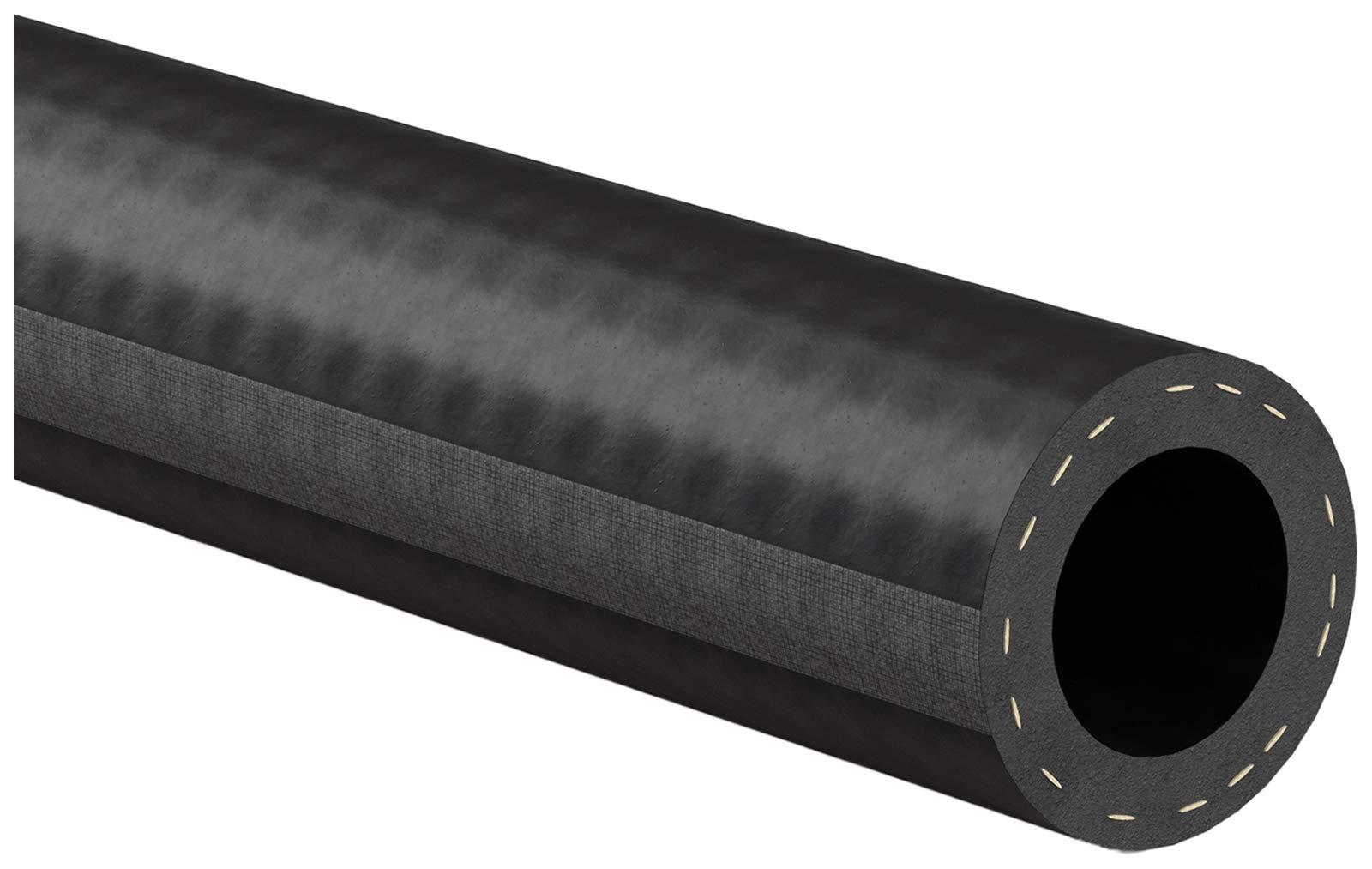"""Gates 28491 Safety Stripe Standard Straight Heater Hose-6' Length, Inner Diameter 5/8"""""""